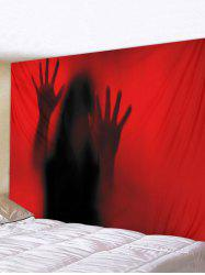 Halloween Ghost Printed Tapestry Wall Hanging Art Decoration -