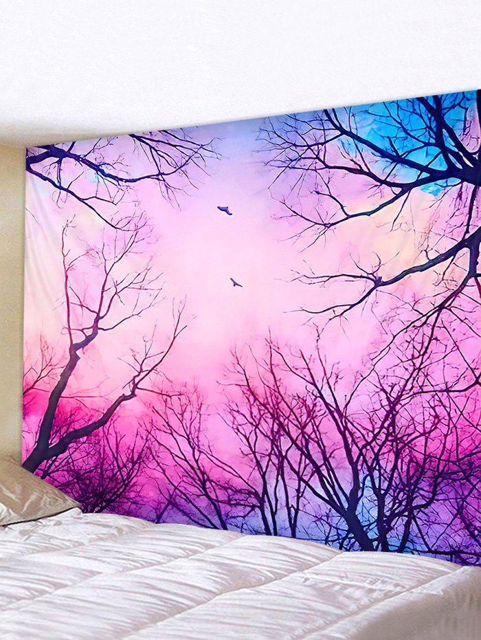 Latest Dreamy Forest Printed Pattern Tapestry