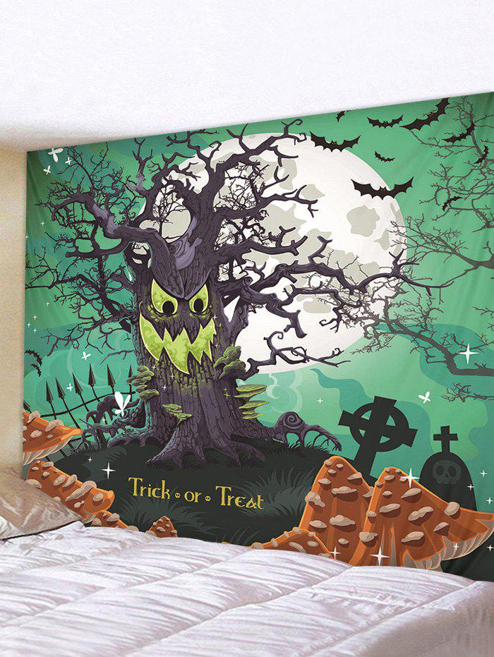 Outfits Halloween Trick Tree Printed Pattern Tapestry