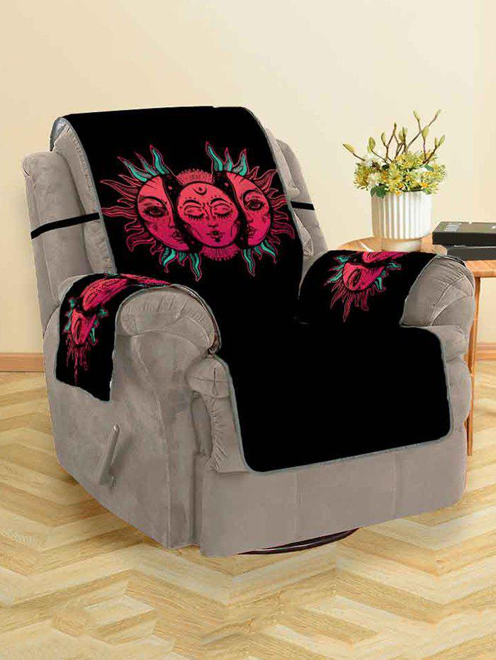 Shops Halloween Sun Design Couch Cover