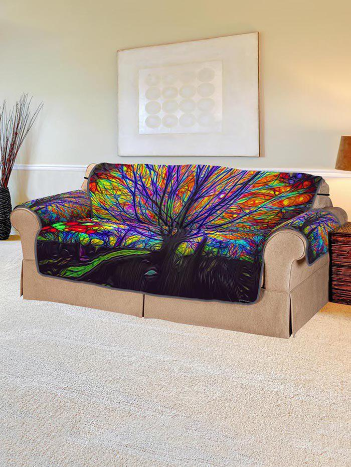 Outfit Abstract Tree Design Couch Cover