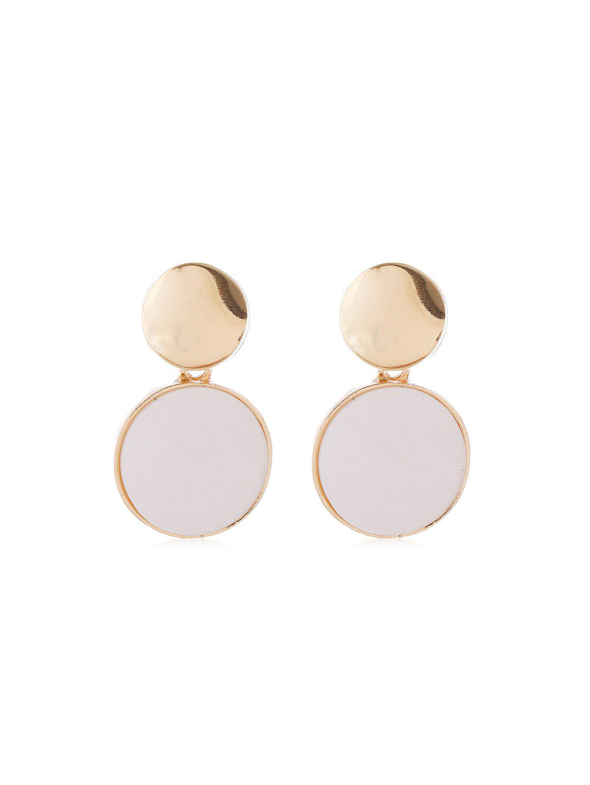 Cheap Metal Alloy Shell Drop Earrings