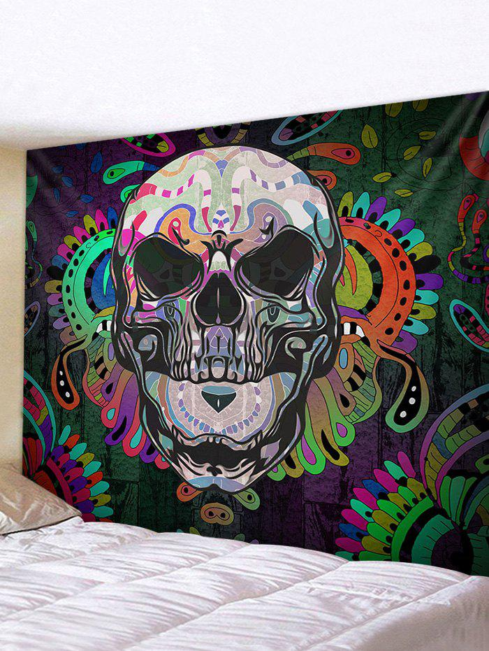Fashion Halloween Skull Printed Tapestry