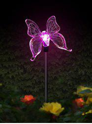 Colorful Decorative Plug Solar LED Light -
