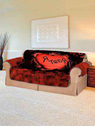 Halloween Heart Design Couch Cover -