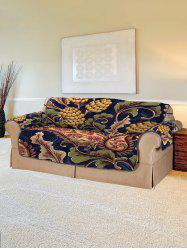 Plant Flower Design Couch Cover -