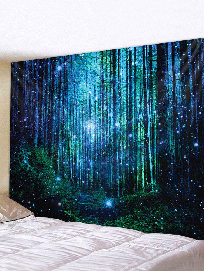 Buy Dreamy Starry Forest Waterproof Wall Art Tapestry