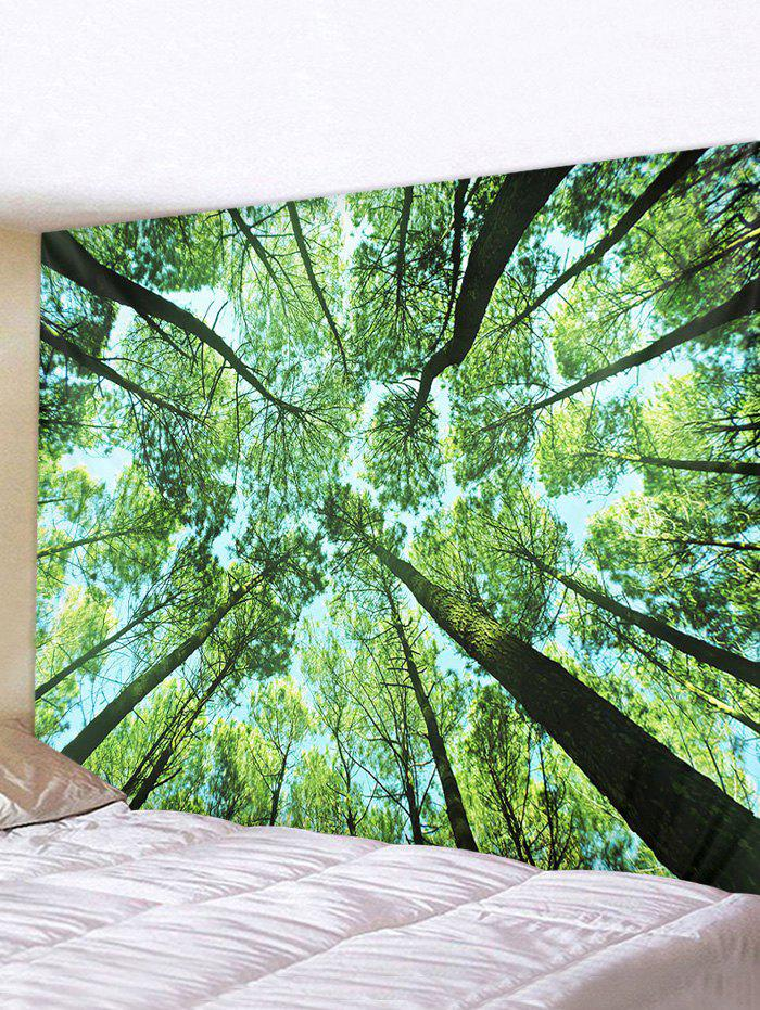 Chic 3D Tree Printed Pattern Tapestry