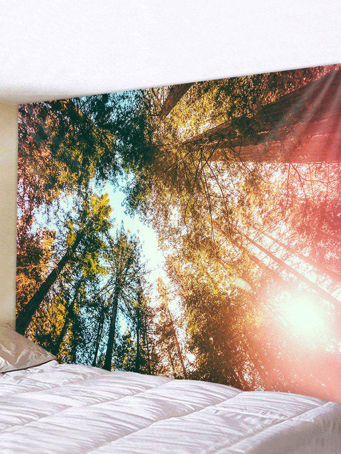 Affordable Sunshine Forest Printed Pattern Tapestry
