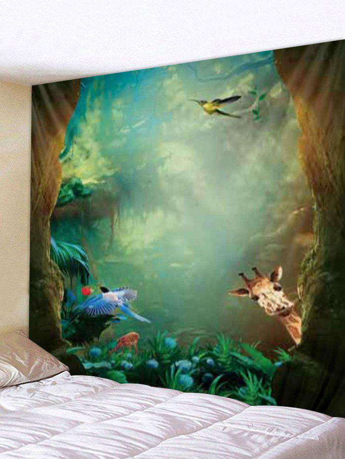 Outfits Digital Printing Animal Forest Tapestry