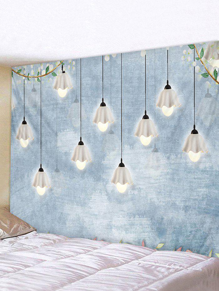 Trendy Hanging Light Ditsy Print Wall Art Tapestry