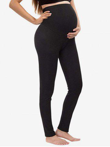 High Waist Over Bump Maternity Leggings