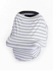 Multi-purpose Striped Print Baby Stroller Windshield Cloth Cover -