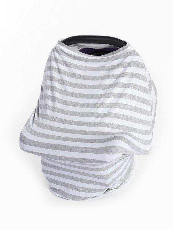 Cheap Multi-purpose Striped Print Baby Stroller Windshield Cloth Cover