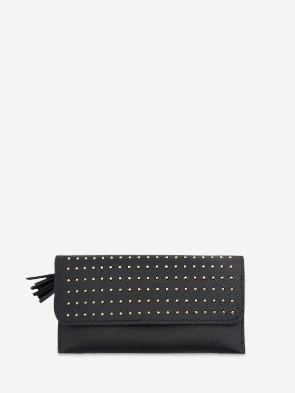 Outfit Rivet Retro Leather Wallet