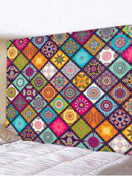 Bohemian Patchwork Printed Tapestry Wall Hanging Art Decor -