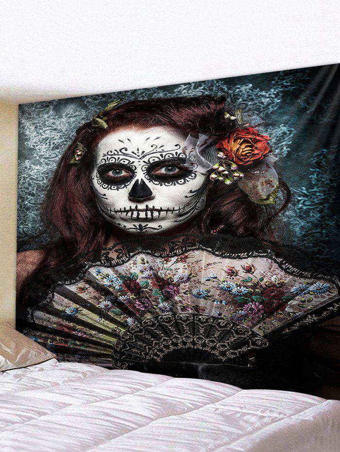Shops Halloween Girl Print Tapestry Wall Hanging Art Decoration
