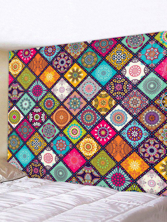 Sale Bohemian Patchwork Printed Tapestry Wall Hanging Art Decor