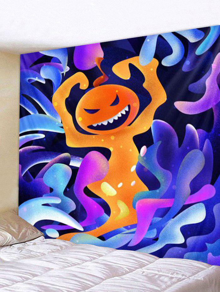 New Halloween Fire Ghost Print Tapestry Wall Hanging Art Decoration