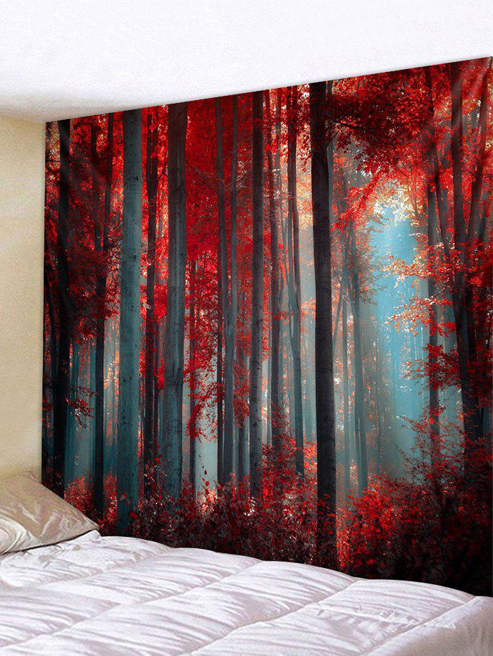 Shop Maple Forest Printed Tapestry Wall Hanging Decoration