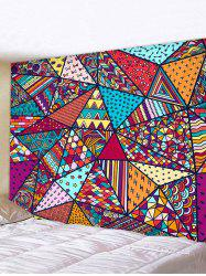 Bohemian Patchwork Printed Tapestry Wall Hanging Art Decoration -
