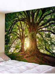 Big Tree 3D Printed Wall Tapestry -