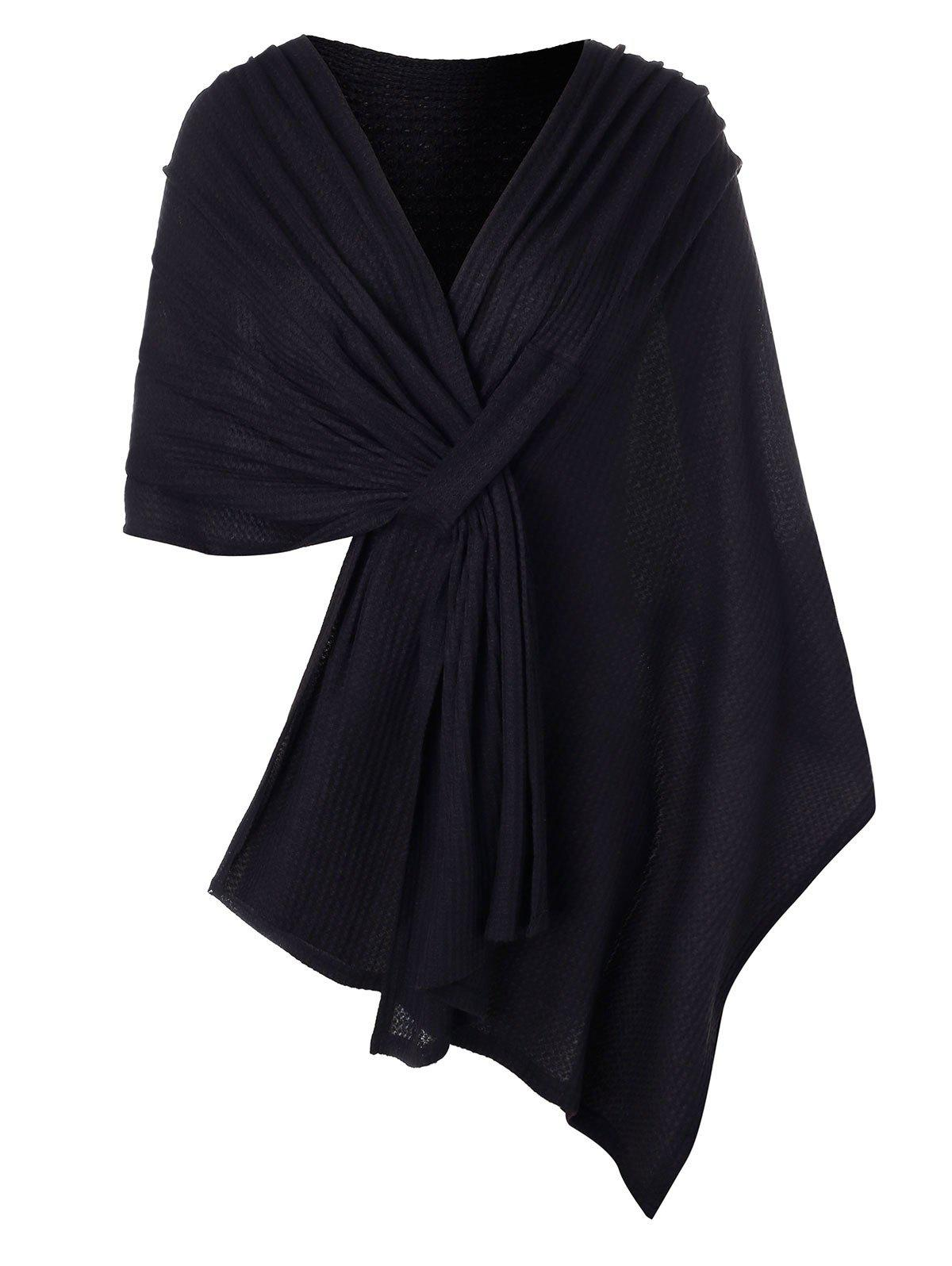 Taille Plus solide Couleur Cape Pull