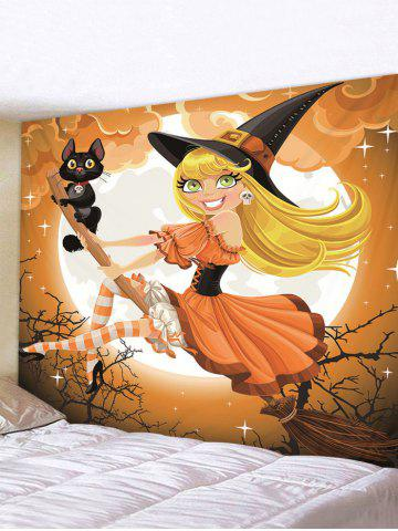 Halloween | Tapestry | Witch | Print | Wall