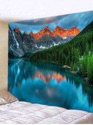 Lake Scenery Landscape Wall Decoration Tapestry -