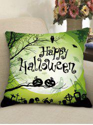 Halloween Print Gothic Style Decorative Pillow -
