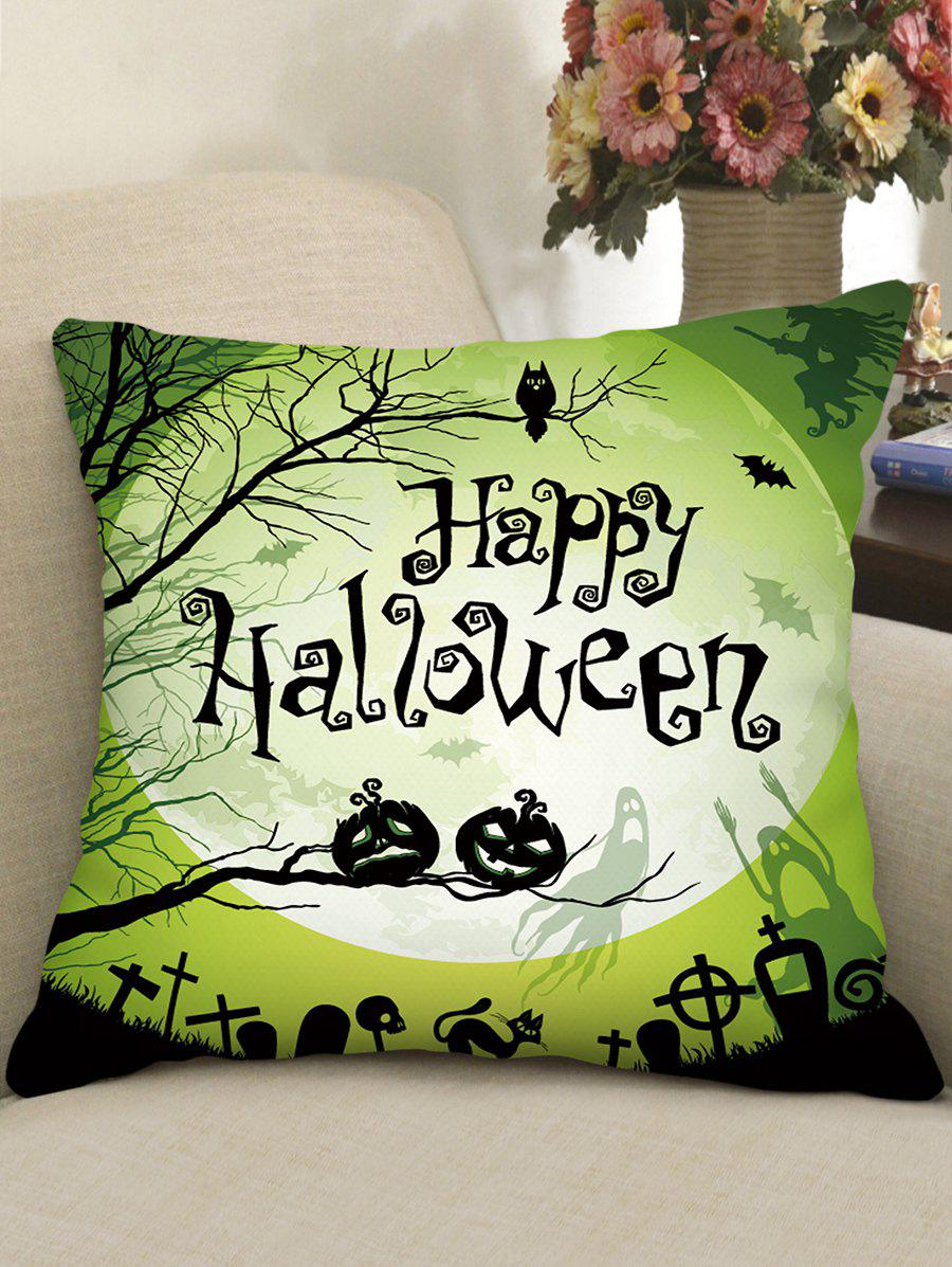 Best Halloween Print Gothic Style Decorative Pillow