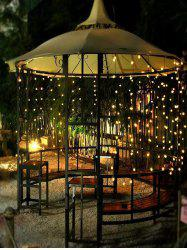 Outdoor Christmas Ball Shape Waterproof Solar String Lights -