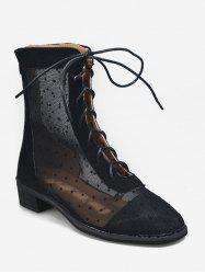 Polka Dot Summer Hollow Out Boots -