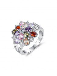 Color Zircon Ring -