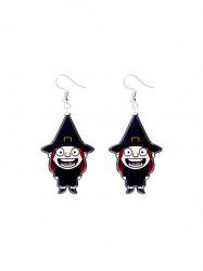 Halloween Witch Cartoon Drop Earrings -