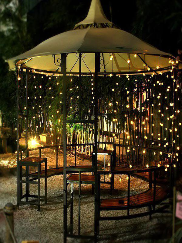 Latest Outdoor Christmas Ball Shape Waterproof Solar String Lights