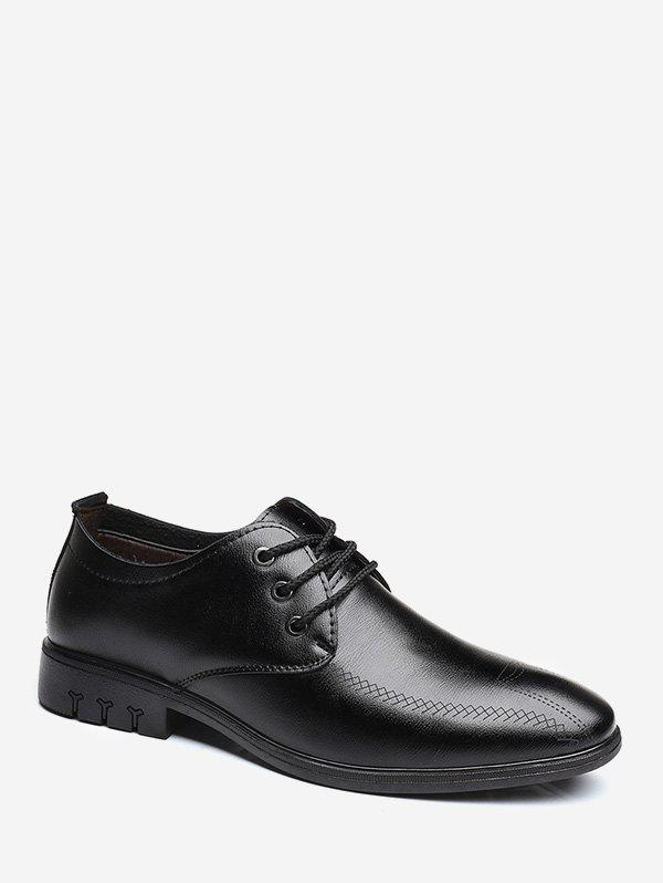 Outfit Simple Faux Leather Business Shoes
