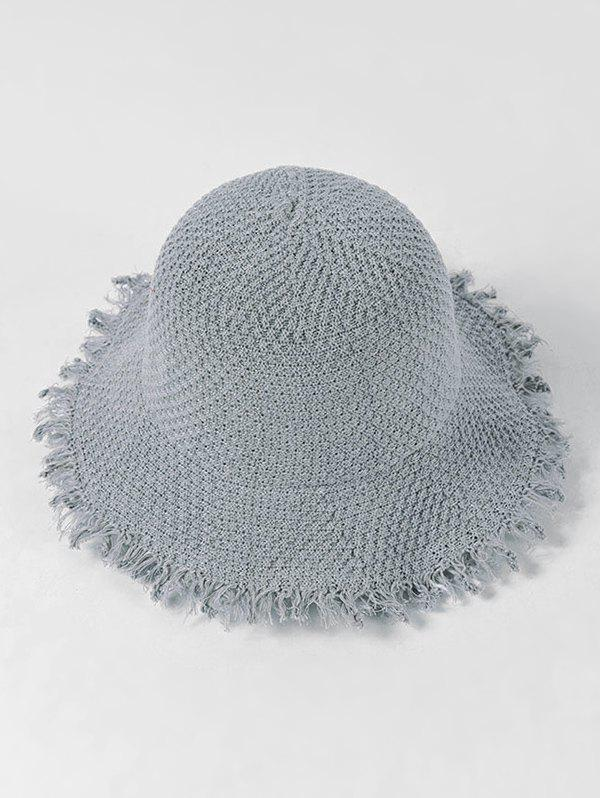 Outfit Adjustable Fringe Knitted Bucket Hat