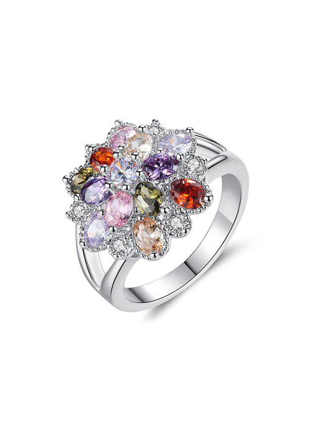 Hot Color Zircon Ring