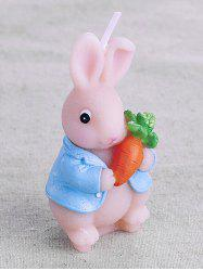 Cute Carrot Rabbit Candle -