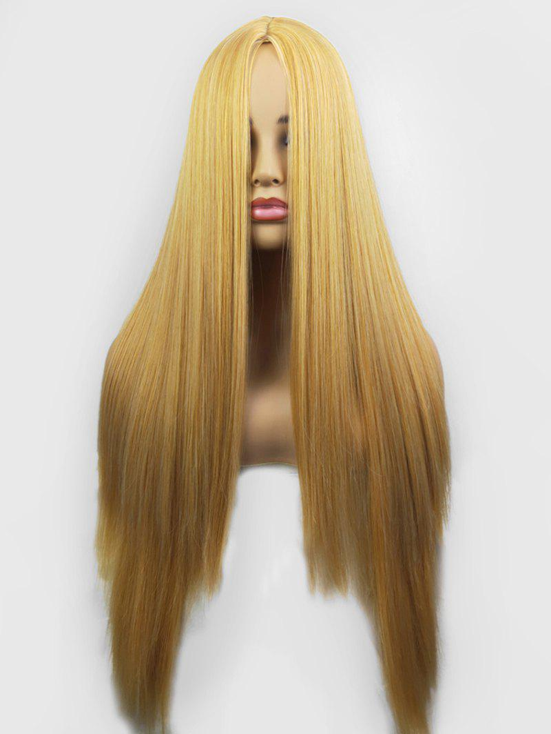 Best Center Part Straight Synthetic Long Wig