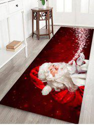 Christmas Santa Claus Floor Rug -