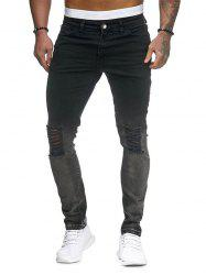 Ombre Destroyed Jeans -