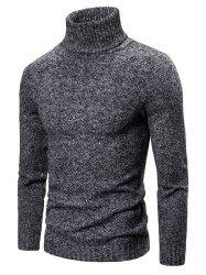 Turtleneck Pullover Sweater -