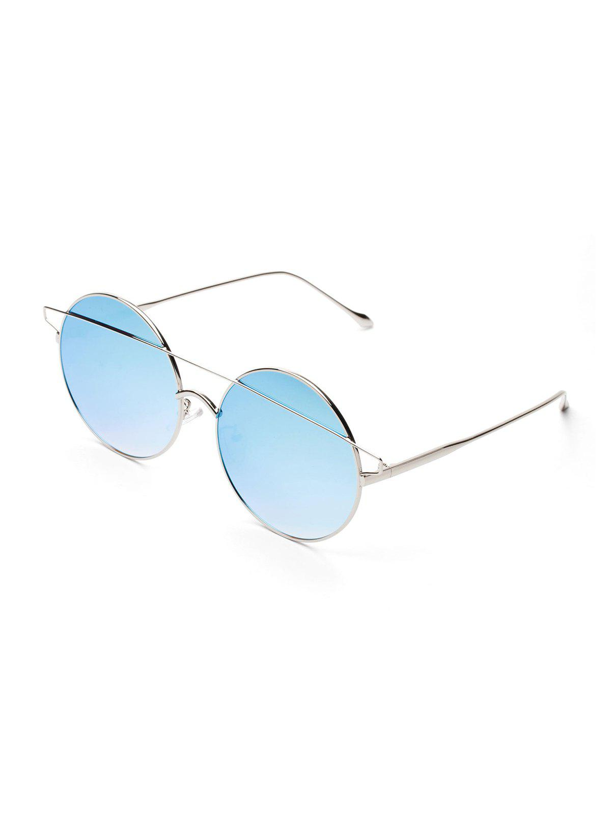 Hot Brief Round Metal Bar Sunglasses