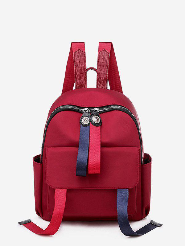 Outfits Solid Travel Waterproof Student Backpack