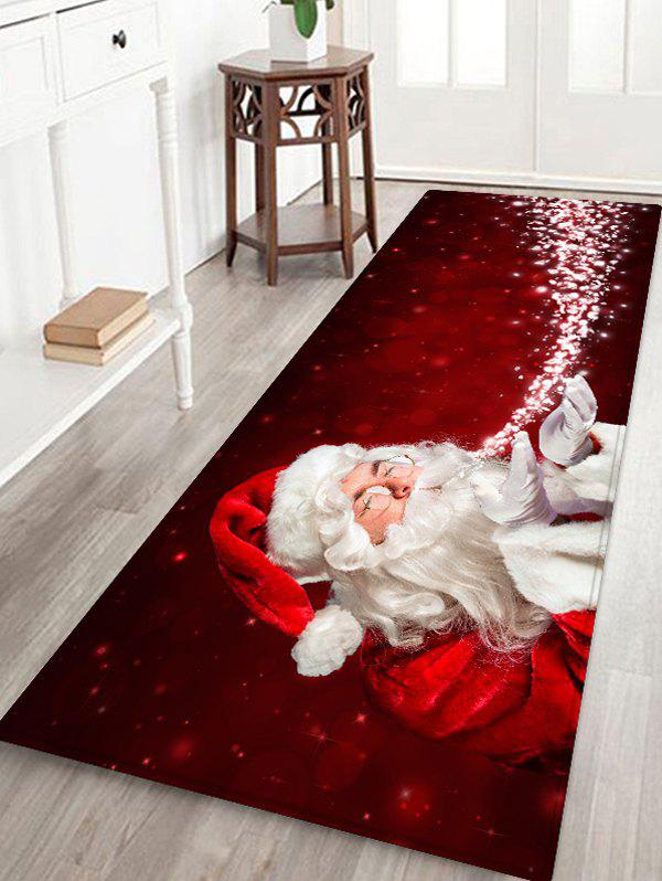 Latest Christmas Santa Claus Floor Rug