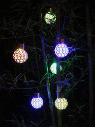 Outdoor Decoration Waterproof Colorful Hanging Solar LED Night Light -