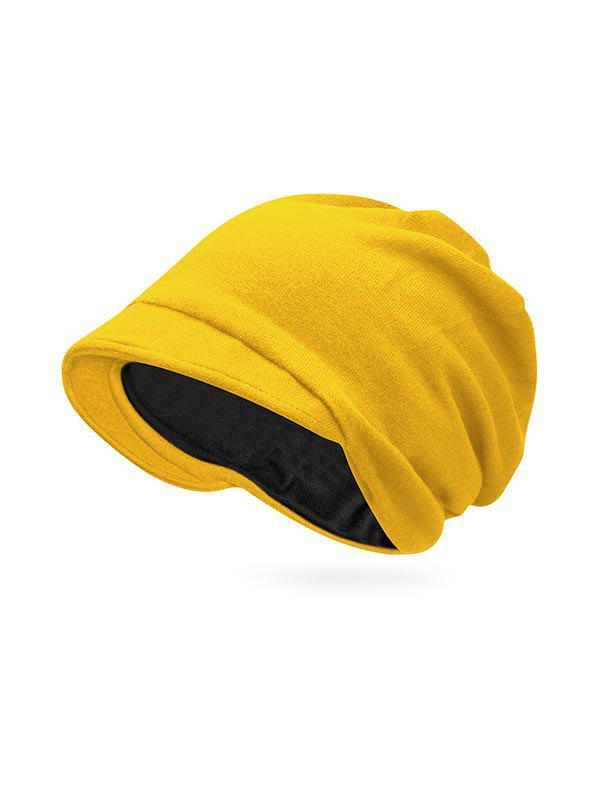 Outfit Solid Color Casual Skull Beanie