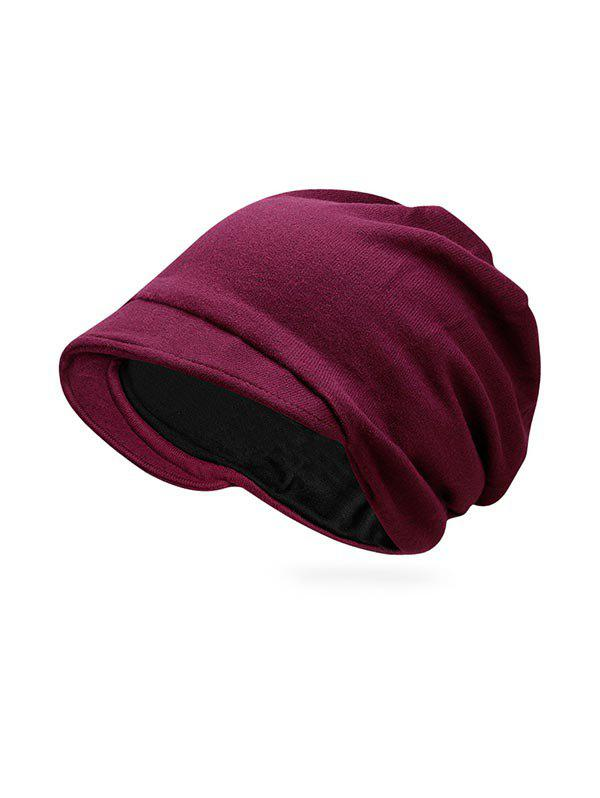 New Solid Color Casual Skull Beanie